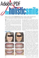 The holistic smile article