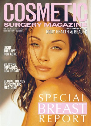 Cosmetic surgery magazine - special breast report edition