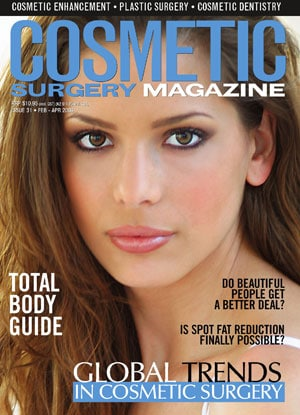 Cosmetic magazine - global trends in cosmetic surgery edition